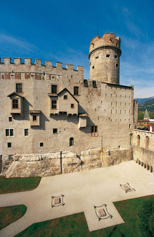 Trento. Castello del Buonconsiglio. Credits: Trentino, Gianni Zotta