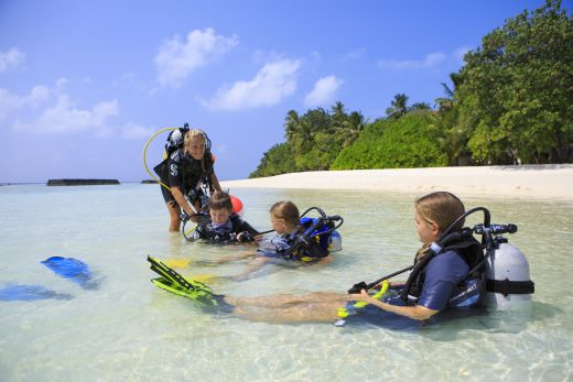 Kuramathi eine Tauchdestination - Fotocredit: © Universal Resorts Maldives