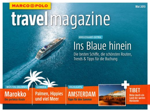 MARCO POLO Travel Magazine - Fotocredit: MAIRDUMONT