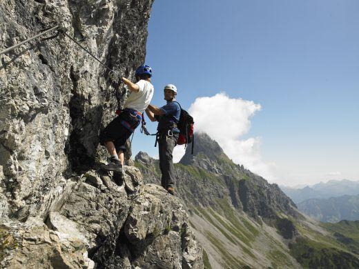 Silvretta Montafon Klettersteige - Foto: Silvretta Montafon