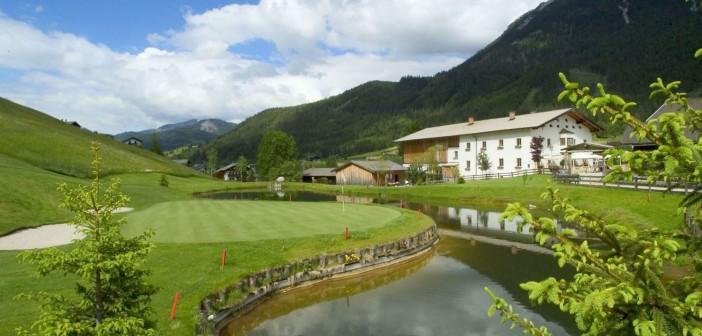 Reiter's Posthotel Achenkirch Alpengolf Clubhaus  Reiter's Posthotel Achenkirch/ Tirol/ A