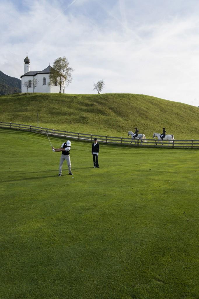Reiten und Golfen rund um das Reiter´s Posthotel c by Maxum/ Wiesenhofer Reiter's Posthotel Achenkirch/ Tirol/ A