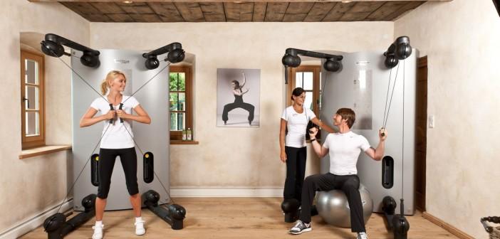 Fitnesstraining in Reiter's Posthotel Achenkirch  Reiter's Posthotel Achenkirch/ Tirol/ A