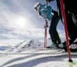 Dank seiner Höhenlage auf 2.700 Metern ist das Skigebiet Haider Alm am Reschenpass im Vinschgau besonders schneesicher. Bildnachweis: Ortler Skiarena/Alex Filz