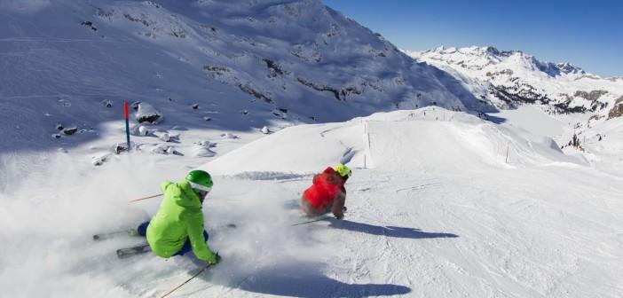 Engelberg in der Zentralschweiz ist für seine Schneesicherheit, eine lange Wintersaison und das abwechslungsreiche Ski- und Freeride-Gebiet bekannt Bildnachweis: Engelberg-Titlis / Fotograf Oskar Enander