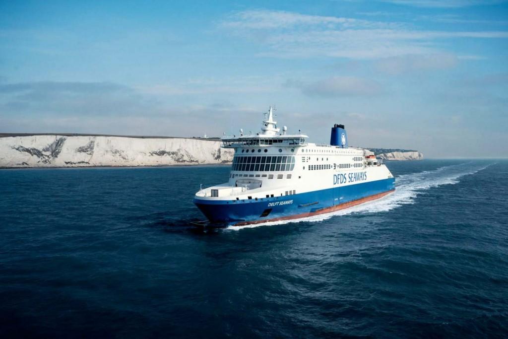 Nach zwei Stunden an Bord der DFDS Seaways Fähre erreicht man je nach Fahrtrichtung Dover bzw. Dünkirchen - Credits: DFDS Seaways
