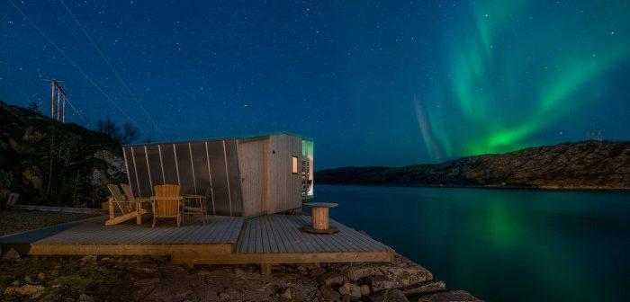 Das Manshausen Resort liegt in Nordnorwegen in der Nähe der Lofoten Fotograf / Quelle Steve King